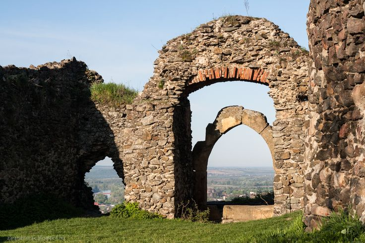 Ruined gate of fortress