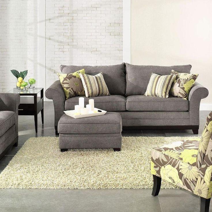 Die besten 25 small living room sectional ideen auf - Kleines wohnzimmer groayes sofa ...