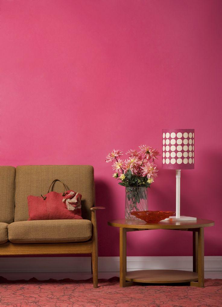 Para crear espacios de cualidades eléctricas puedes tomar #COLORES intensos y aplicarlos en cada rincón. ¡Inténtalo!   #sala #DIY #hogar #home