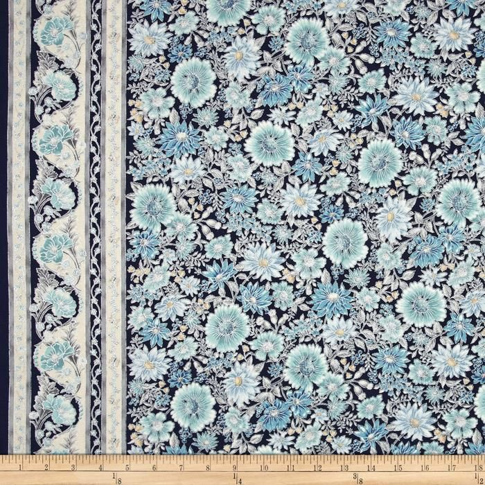 Robert Kaufman - Tuscan Wildflower 3 APTM-15406-79 COPEN panel