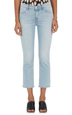 J BRAND Selena Crop Flared Jeans. #jbrand #cloth #jeans
