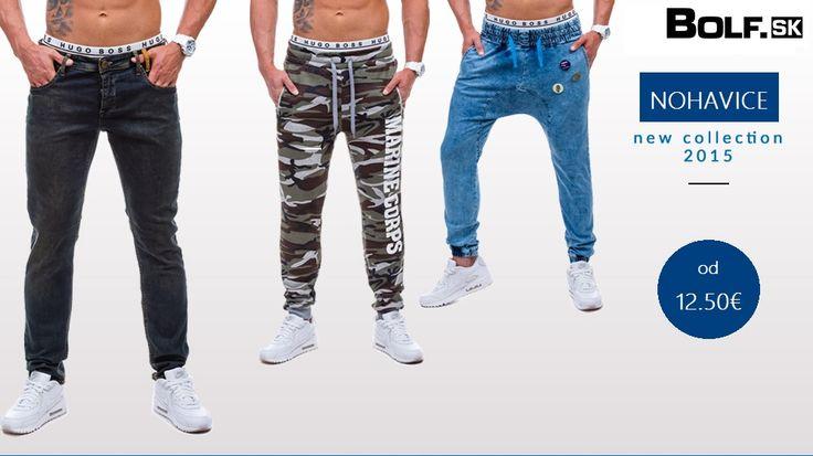 Nová kolekcia pánskych nohavíc http://www.bolf.sk/on/panske-nohavice