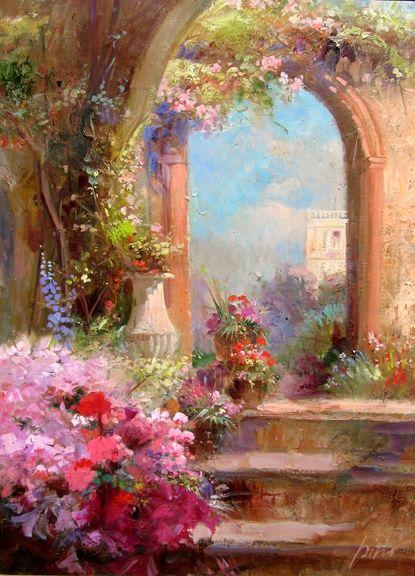 Raindrops and Roses — Pino Daeni