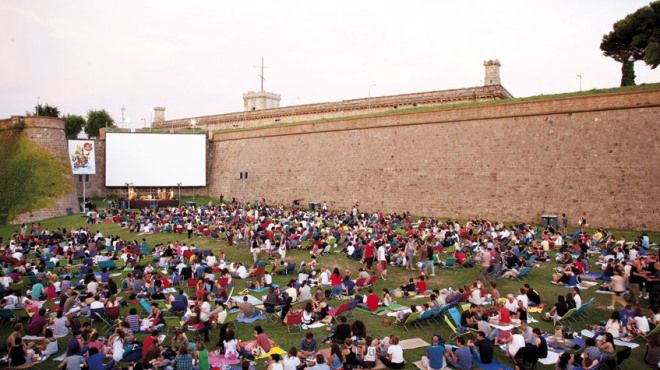 22 best sports life images on pinterest barcelona city for Cinema fresca montjuic