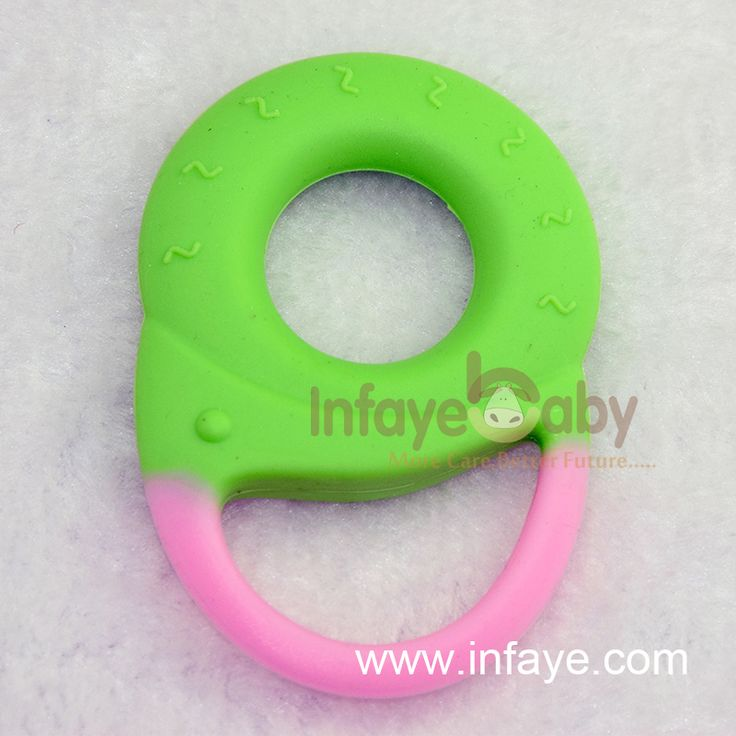 silicone material babies and teething rings for early teething pain relief