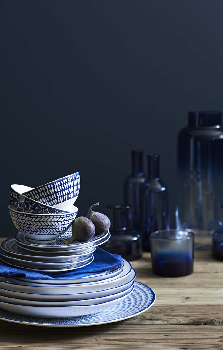 Spruce up your crockery collection with our new Indigo range.