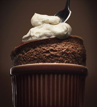 Bon Appetit's chocolate souffle - I made this one twice and both times I was very pleased with the results!