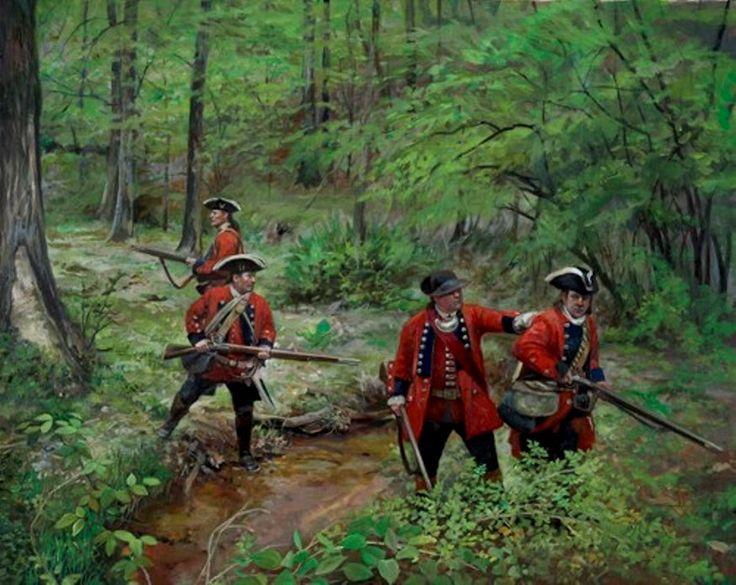 White, Pamela Patrick - British Soldiers- Seven Years War in North American