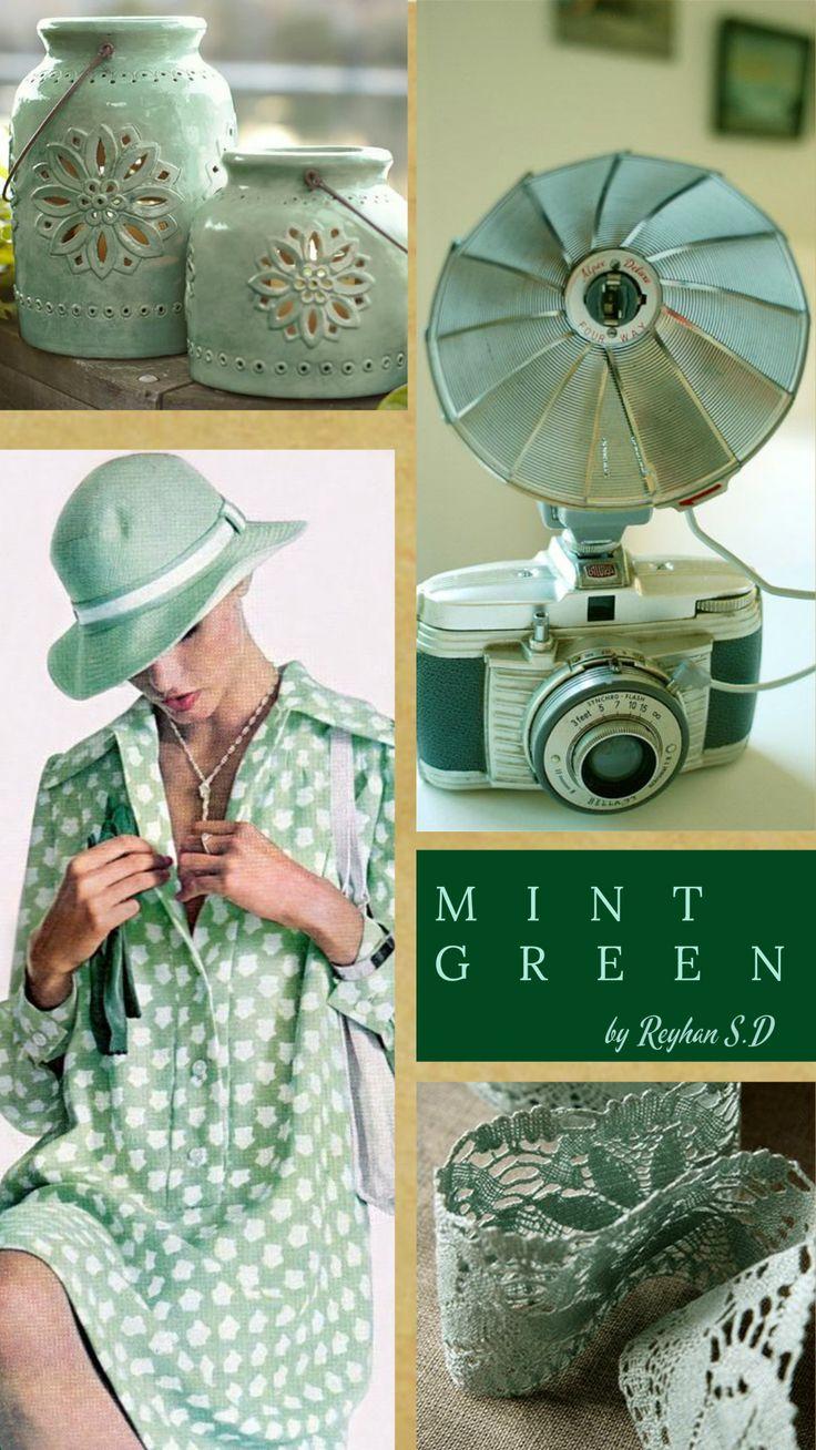 '' Mint Green '' by Reyhan Seran Dursun