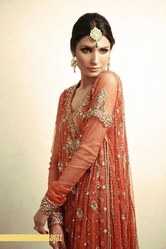 Pakistani Bridal Couture Wedding Dresses 2014 (18)