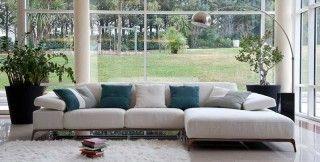 Καινοτομία και άνεση που απογειώνει την αισθητική του καθιστικού σας.Καναπές γωνία ειδικά σχεδιασμένος σε λιτή γραμμή αλλά εξοπλισμένος με ε...