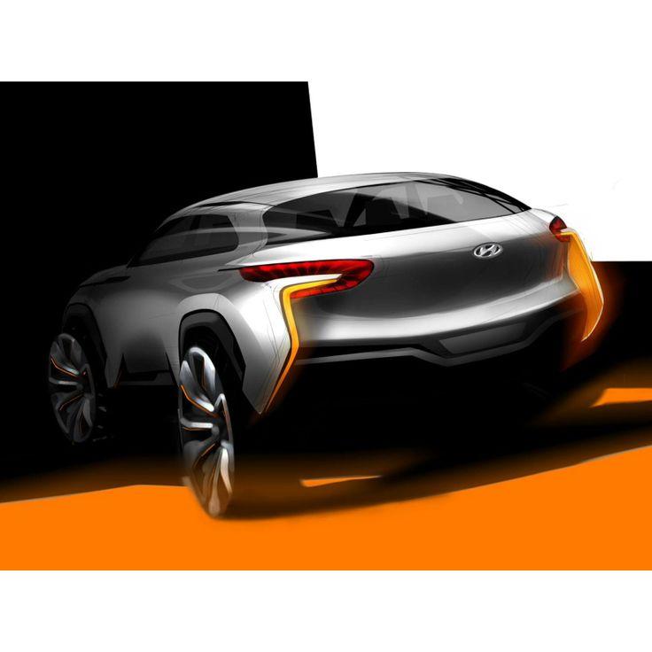 Hyundai SUV sketch