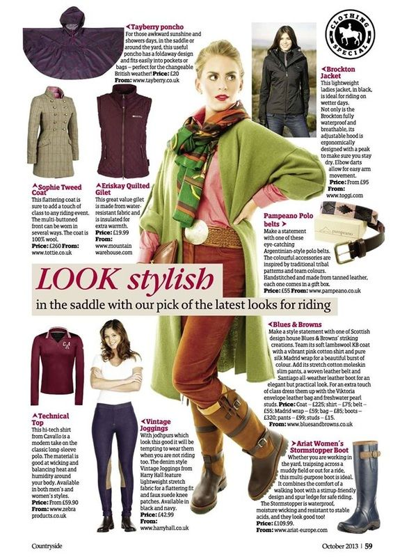 In the Press - Countryside Online 2013 Hermoso pampeano polo belt