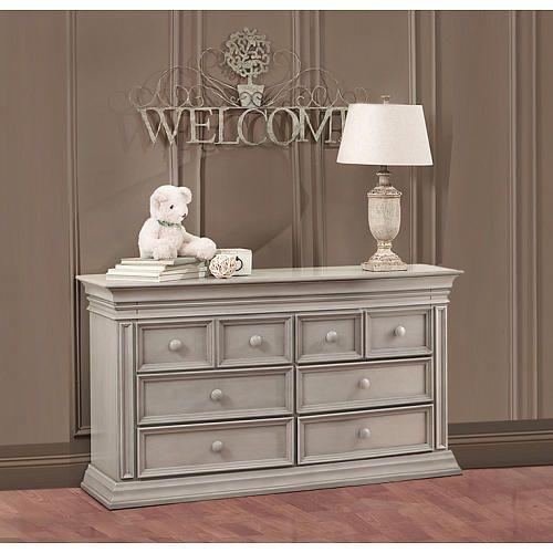 Baby Cache Vienna 6 Drawer Dresser Ash Gray Babies R
