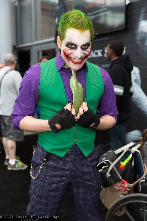Joker #cosplay #NYCC2013