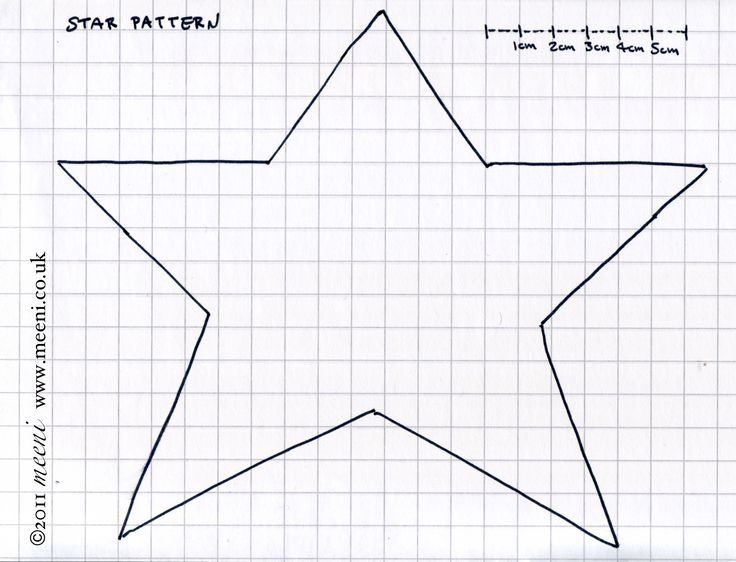 Free primitive star template paper pricking free for Paper pricking templates