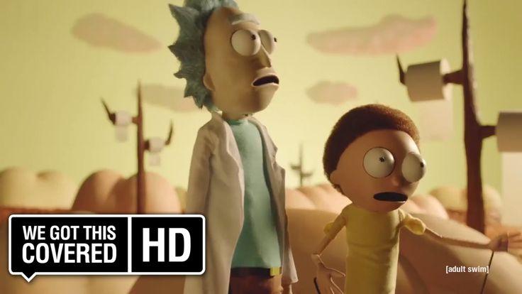 "Rick and Morty Season 3 ""Buttworld"" Promo [HD] Dan Harmon, Justin Roilan..."