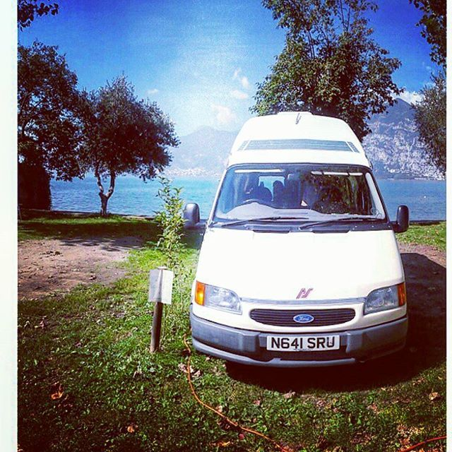 Where's your happy place? In 2014 my hubby & I spent 6 months in our camper 'Dolly' travelling around Europe & had THE most amazing time. This was taken in Lago de Iseo in Italy & was the most amazing 'back yard' view EVER! Any memory of Dolly will always be our 'happy' place!  #tbt #love #memories #travel #camper #happydays #instagood #instagreat #happy #loa