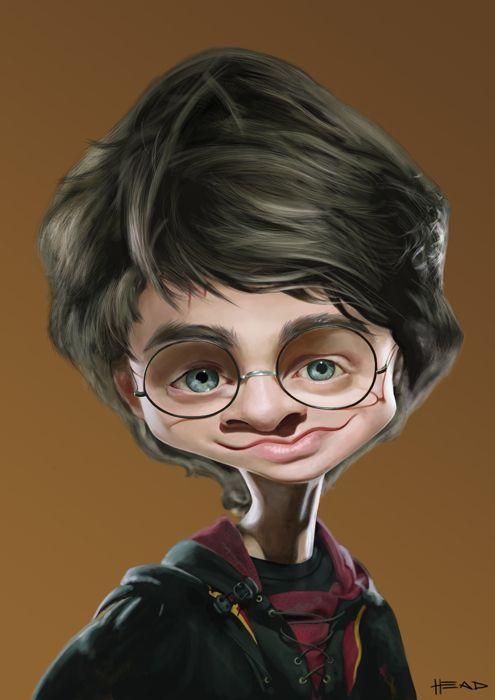 Harry Potter #art #Caricature #cool