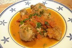 Pollo Alla Cacciatora (pollo a la Cazadora, Italia) Receta