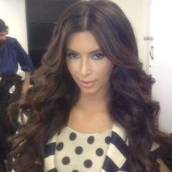 Kim Kardashian - Big Hair - Gorgeous Hair