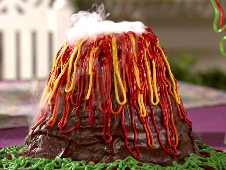 Volcano Cake Recipe : Food Network - FoodNetwork.com