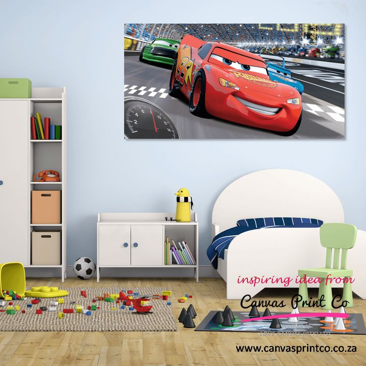 Printing characters on canvas for your child's room is a great way to personalise the space. Let them choose their favourite and do one large canvas or a few smaller ones clustered together. Send us an enquiry today so that we can assist - http://canvasprintco.co.za/contact-us/