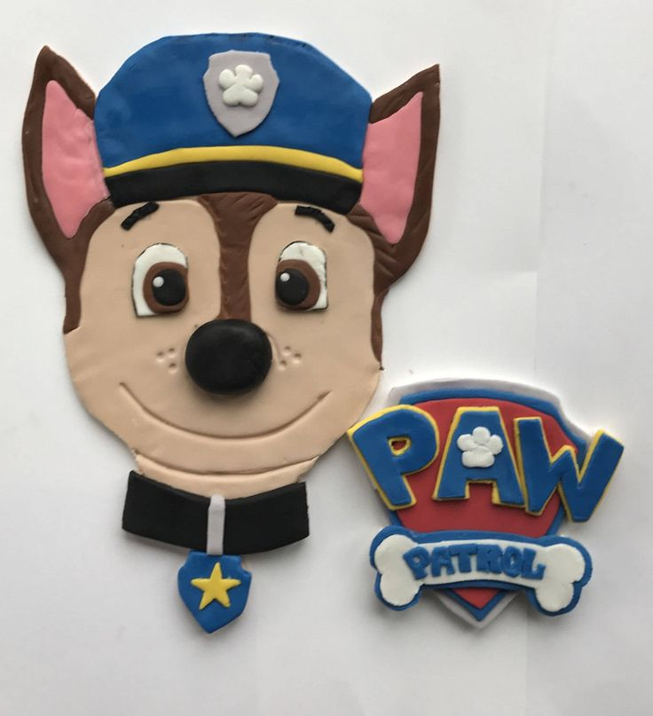 Chase From Paw Patrol Badge - 0425