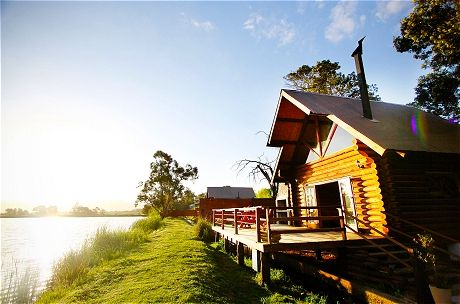 Arum Lily Cottage and Log Cabin - accommodation in Wolseley, Western Cape, South Africa -close to Tulbagh
