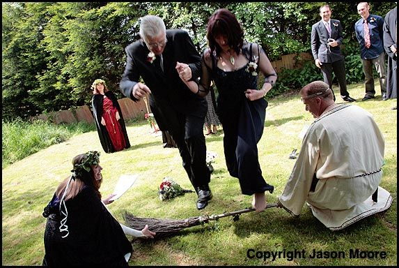 Wiccan Wedding Ceremony Ordained Minister Process Pagan High
