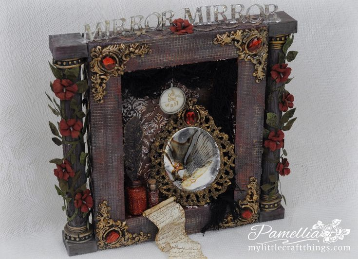 My Little Craft Things: A Vintage Journey - Guest Creative Guide - The Evil Queen's Vanity