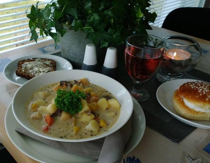 Reindeer soup - Porokeitto