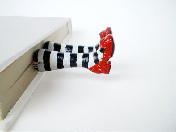 Wicked Witch of the East bookmark.