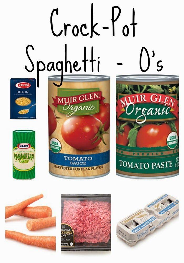 Easy Crockpot Spaghetti - O's Recipe || The Chirping Moms