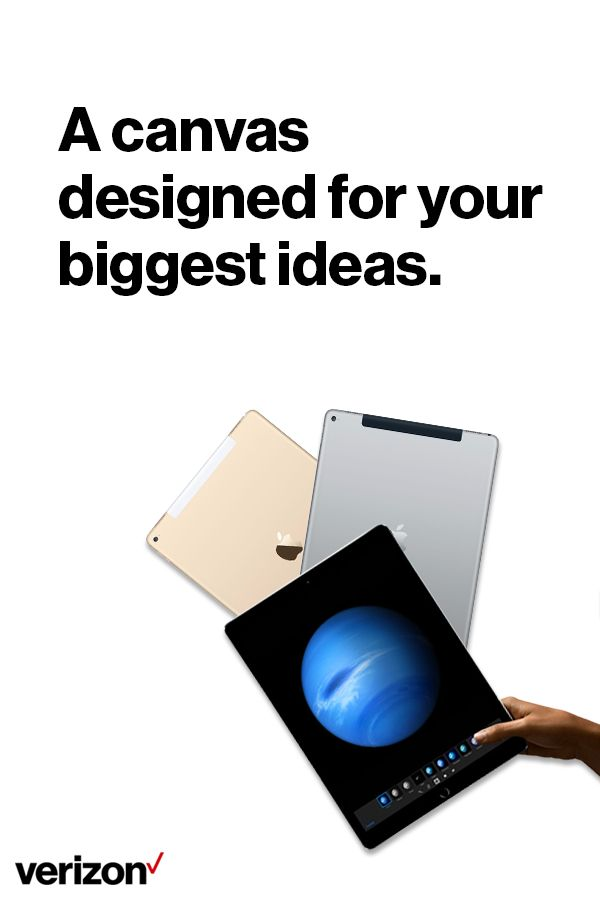 With its epic Retina display, the 12.9–inch iPad Pro is the largest and most powerful iPad ever designed. It turns advanced tasks into brilliant, immersive experiences. Get yours today.