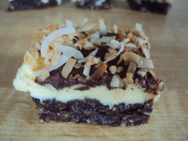 Nut-Free Nanaimo Bars