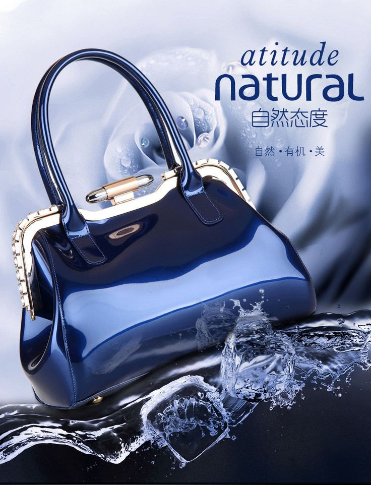 elegant patent leather woman bag with rhinestone for cocktail party or dinner and so on http://www.dhgate.com/product/linmeimode-high-quality-elegant-patent-leather/231457185.html
