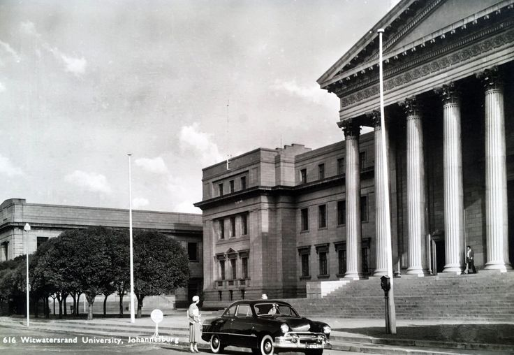 Witwatersrand University early 1950's.