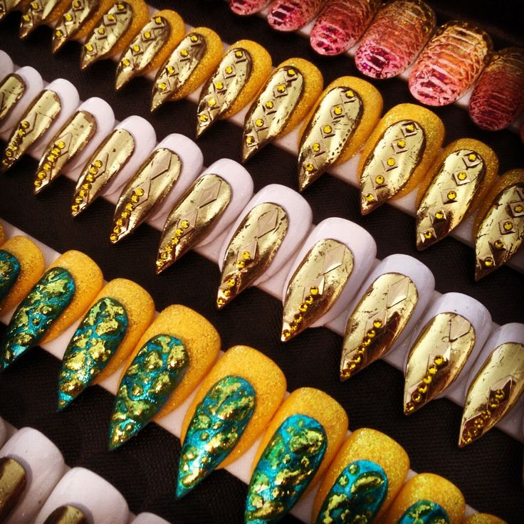More avant garde nail designs from The Blonds