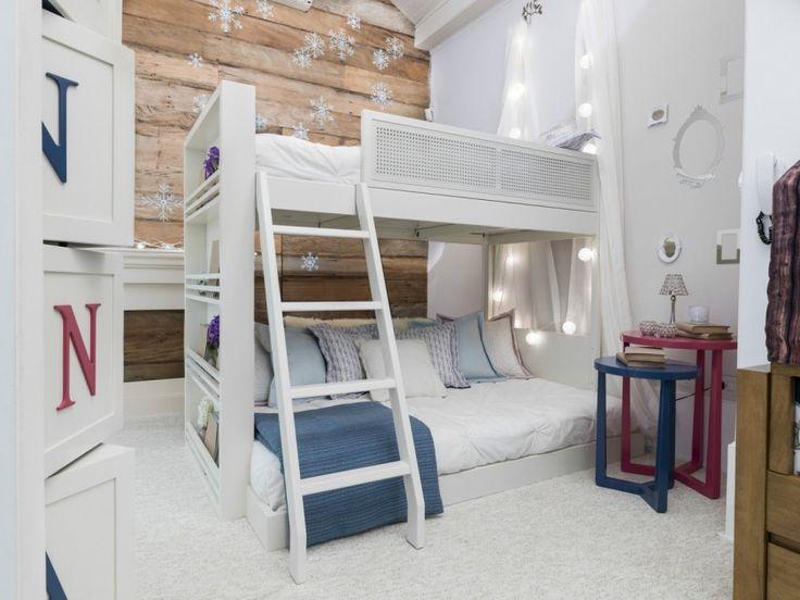 decor quarto crianca frozen cama beliche