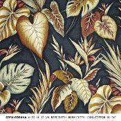 Copa Cobana pattern in color black