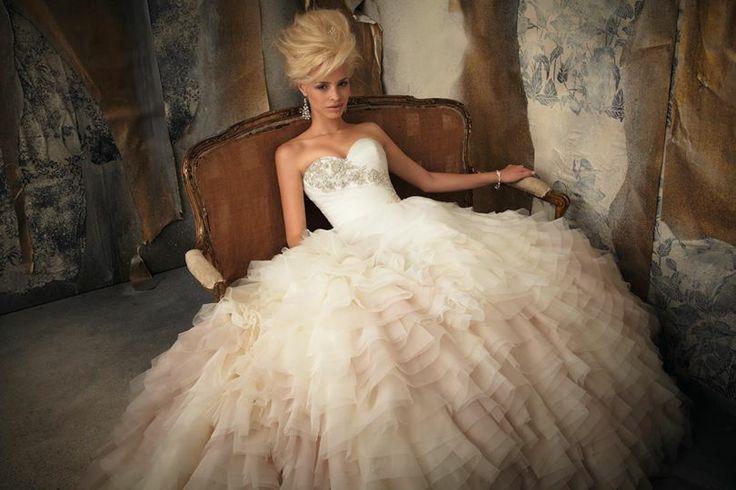 Deslumbrante vestido de novia Mori Lee
