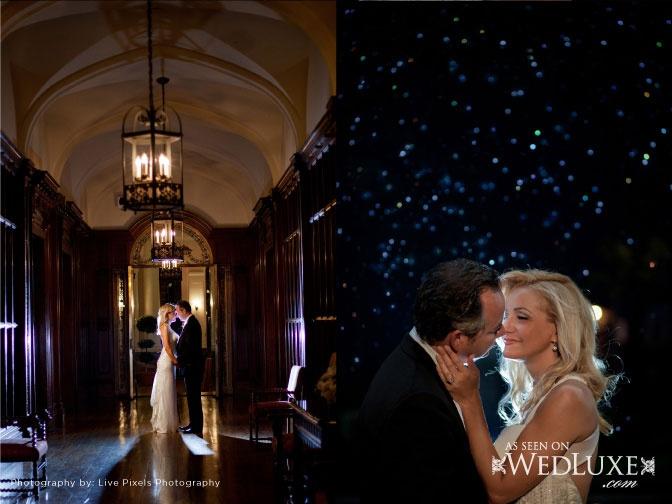 True Love, True Luxury: Effie & John | WedLuxe Magazine