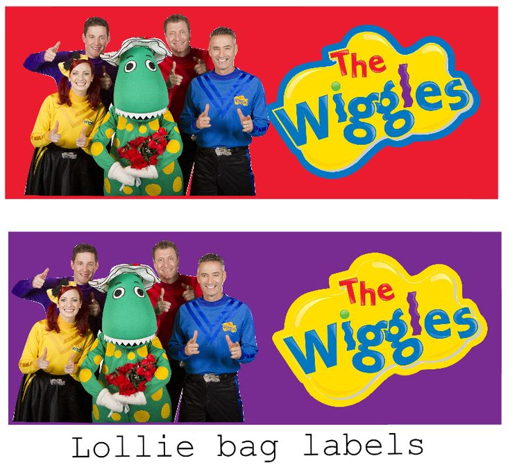 httpwwwellierosepartydesignscomthe wiggles birthday 200 best Wiggles Printables images on
