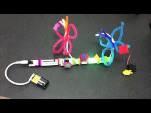 littleBits Flower Garden