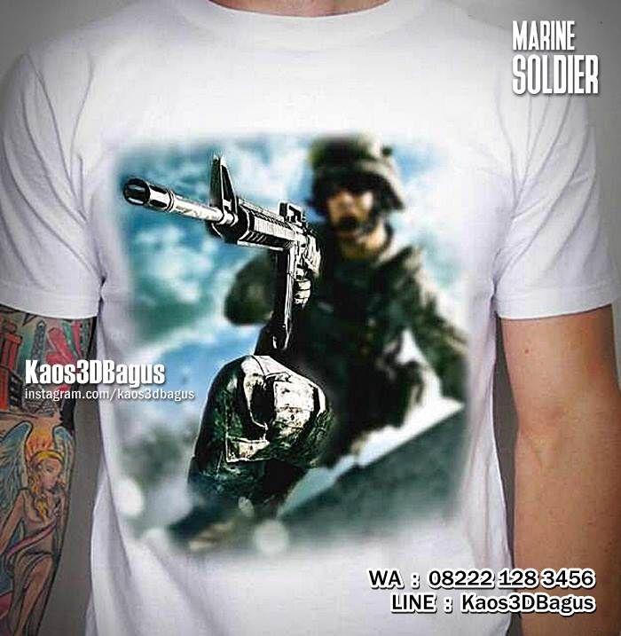 Kaos TENTARA, Kaos ARMY, Kaos Pasukan Khusus, Kaos Marinir, Kaos MILITER, Military T-shirt, Navy Seal, https://instagram.com/kaos3dbagus, WA : 08222 128 3456, LINE : Kaos3DBagus