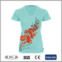 fashion europe low price cotton silk new v neck t shirt  Best buy follow this link http://shopingayo.space