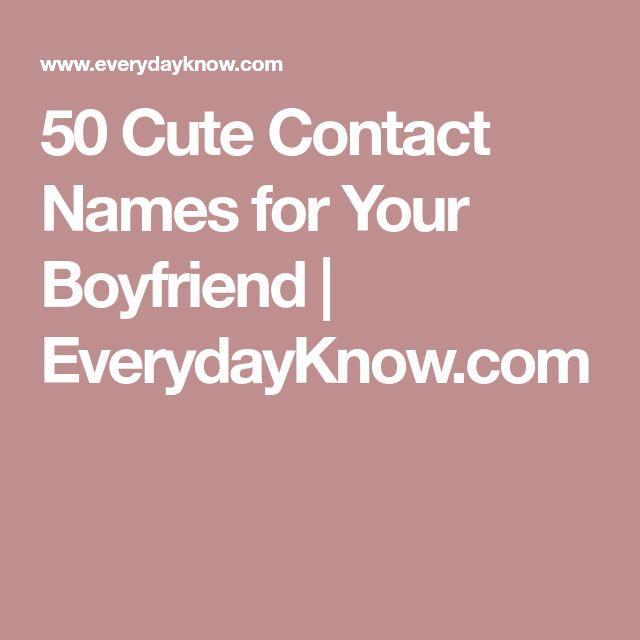 Best 25+ Cute Nickname For Boyfriend Ideas On Pinterest