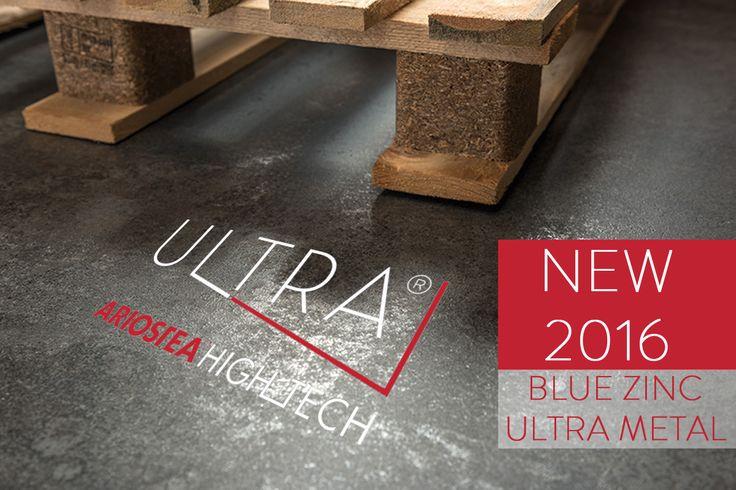 Pavimenti e Rivestimenti - Floors and Walls -  BLUE ZINC | ULTRA METAL http://ultra.ariostea-high-tech.com/collections/ultra-metal/blue-zinc