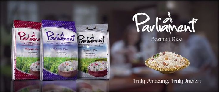 Brand #Parliament promises authentic Indian Basmati Rice of superior quality. Get it today at #ApnaBazar #Liberty #Indian #Food #Grocery